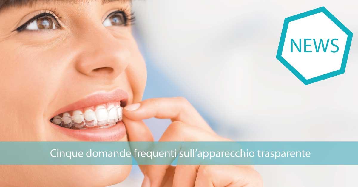 apparecchio trasparente | Studio Dentistico Cirillo